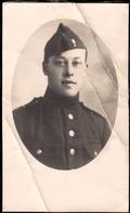 Jules Bierset De Wegnez Pepinster Soldat Au 37me De Ligne Guerre 40/45 Tombé En 1940 à Oostende - Décès