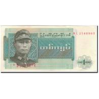 Billet, Birmanie, 1 Kyat, KM:56, SPL - Myanmar