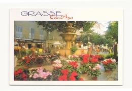 GRASSE LA FONTAINE DE LA PLACE AUX AIRES 06 - Grasse