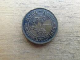 Hong-kong  10 Cents  1963  Km 28.1 - Hong Kong
