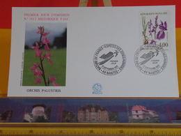 Orchis Palustris - 44 Nantes - 12.9.1992 FDC 1er Jour N°1812 - Coté 3€ - FDC