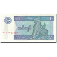 Billet, Myanmar, 1 Kyat, KM:69, NEUF - Myanmar