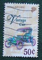 50 C Transportation Verkehrmittel Vintage Car 1997 Mi 836 YT 804 Used Gebruikt Oblitere SINGAPORE SINGAPUR - Singapur (1959-...)
