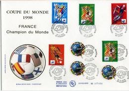 Bo291 Grande Enveloppe Coupe Du Monde1998.12/06/1998 - FDC