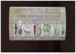 Belgie Blok Feuillet BL186 Vergeten Groenten Legumes Vegetables - Blocs 1962-....