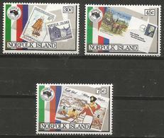 Norfolk Island - 1984 Ausipex Set Of 3 MNH ** - Norfolk Island