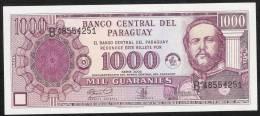 PARAGUAY  P221  1000 GUARANIES   2002   UNC. - Paraguay