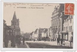 80 - MONTDIDIER LA PLACE DE L'HOTEL DE VILLE - CAUET N° 2 - 2 Scans - - Montdidier