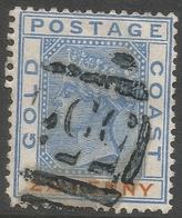 Gold Coast. 1884-91 QV. 2½d Used. SG 14 - Gold Coast (...-1957)