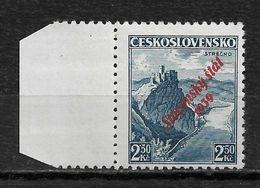 Slovakia 1939, 2.50K Overprinted, Scott # 17,VF Mint Hinged OG (RN-6) - Slovakia