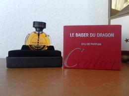 ACHAT IMMEDIAT;;;; COFFRET MINIATURE LE BAISER DU DRAGON DE CARTIER 7,5 ML EAU DE PARFUM - Miniatures Modernes (à Partir De 1961)