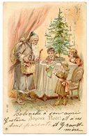 Père Noël Apportant Les Cadeaux Aux Enfants . Santa Claus . Christmas . Weihnachten . Weihnachtsmann . Children . Kinder - Santa Claus