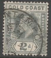 Gold Coast. 1907-13 KEVII. 2d Used. SG 61 - Gold Coast (...-1957)