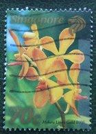 70 C Local Greetings Flower Fleur Blumen Orchid 2006 Mi 1623 Used Gebruikt Oblitere SINGAPORE SINGAPUR - Singapur (1959-...)