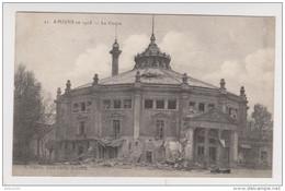 80 - AMIENS EN 1918 LE CIRQUE - ÉDITION L. CARON N° 21 - AMIENS GARE 11 MAI 1919 - 2 Scans - - Amiens