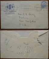 Tematica Alberghi Bermuda 1931 Busta  Dell'Hotel Inverurie Per Gli USA Insegna Dell'hotel - Bermuda