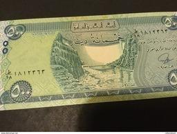 Iraq P98 500 Dinars 2013 AH 1435 Mark For Blind Unc.. - Iraq