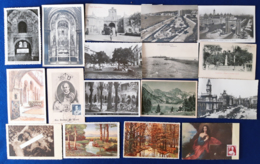 Spagna 17 Differnet Post Cards VF/F - 1931-50 Storia Postale