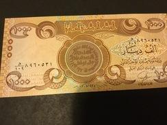 Iraq P99 1000 Dinars 2013 AH 1435 Mark For Blind Unc.. - Iraq