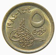 [NC] EGITTO - 5 PIASTRES 1984 (nc3994) - Egitto