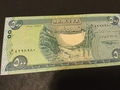 Iraq NLP 500 Dinars 2015 AH 1437 Issues 2017  Unc.. - Iraq