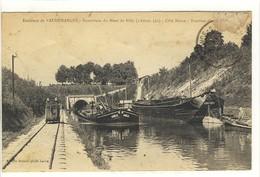 Carte Postale Ancienne Vaudemanges - Souterrain Du Mont De Billy. Traction électrique - Péniches Batellerie - Andere Gemeenten