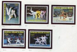 11275  CONGO  Collection Vendue Par Page  PA 3210/4 **   1984  TB/TTB - Congo - Brazzaville
