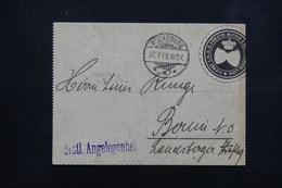 ALLEMAGNE - Carte Lettre De La Poste Privée De Bückenburg Pour Berlin En 1895 - L 23010 - Private