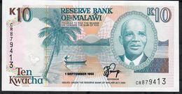 MALAWI P25b 10 KWACHA 1992     UNC. - Malawi