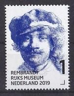 Nederland - 15 Februari 2019 - Rembrandt In Het Rijksmuseum - Zelfportret Met Pet - Ca 1634 - MNH - Period 2013-... (Willem-Alexander)