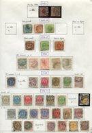 11278  DANEMARK  Collection Vendue Par Page °/*    1851-79  B/TB - Danemark