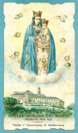 Santini: N.S. DEL MONTE - Genova  - SANTUARIO - E - PR - Mm. 66 X 118 - CROMOLITOGRAFIA - Religione & Esoterismo