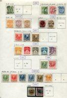 11279  DANEMARK  Collection Vendue Par Page °/*    1882-1912  B/TB - Danemark