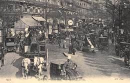 Paris - Boulevard Montmartre - Attelage Chevaux - Cecodi N'408 - France