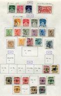 11280  DANEMARK  Collection Vendue Par Page °/*    1912-18  B/TB - Danemark