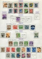11281  DANEMARK  Collection Vendue Par Page °/*    1919-21  B/TB - Danemark