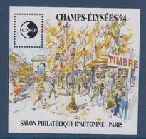 CNEP-1994-N°19** CHAMPS ELYSEES 94.Salon Philathélique De PARIS. - CNEP