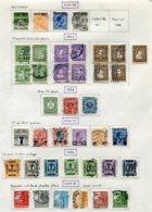 11282  DANEMARK  Collection Vendue Par Page °/*    1921-27  B/TB - Danemark