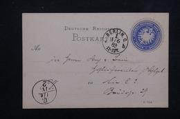 ALLEMAGNE - Carte De Correspondance En Poste Privée De Berlin En 1883 - L 23012 - Private