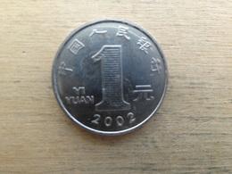 Chine  1  Yuan  2002  Km 1212 - Chine