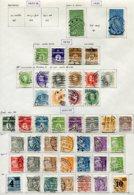 11283  DANEMARK  Collection Vendue Par Page °    1927-33  B/TB - Danemark