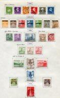 11284  DANEMARK  Collection Vendue Par Page °/ *    1935-38  B/TB - Danemark
