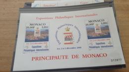 LOT 440915 TIMBRE DE MONACO NEUF** LUXE - Blocs