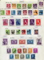 11285  DANEMARK  Collection Vendue Par Page °/ *    1938-43  B/TB - Danemark