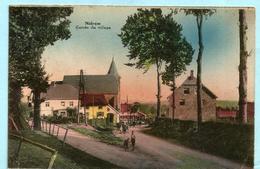 NIDRUM - Entrée Du Village (colorée) - Elsenborn (Kamp)