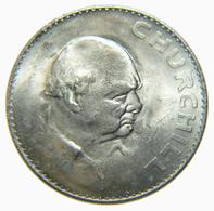 [NC] GRAN BRETAGNA - CROWN CHURCHIL - 1965 (nc4000) - 1971-… : Monete Decimali