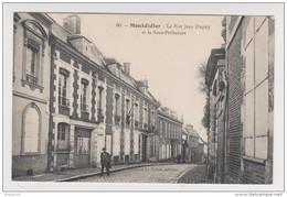 80 - MONTDIDIER  LA RUE JEAN DUPUY ET LA SOUS PRÉFECTURE - ÉDITION LIBRAIRIE VALLÉE  - 1914 -2 Scans - - Montdidier