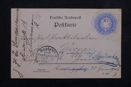 ALLEMAGNE - Carte De Correspondance En Poste Privée De Berlin En 1892 - L 23013 - Private