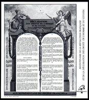 FRANCE 1989 - YT BF 11b Noir - Neuf **  MNH - Cote: 150,00 € - Blocs & Feuillets