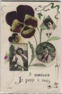 CPA - Fantaisie - A SINGLES ... - Edition ... - France